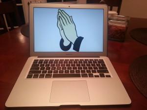 A praying computer