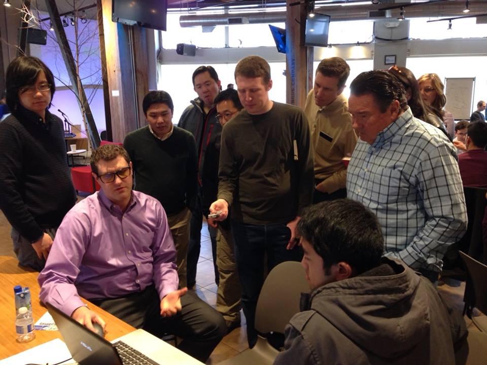 Visiting teams at Code for the Kingdom