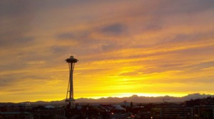 seattle_space_needle_sunset
