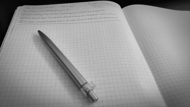 Todo list in notebook