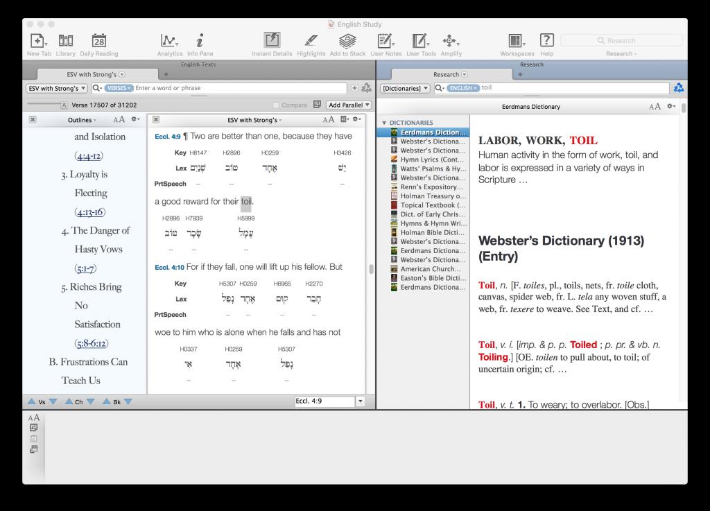 App Review: Accordance Bible Software - Merit & Grace